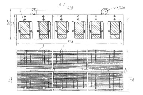 Фильтр магнитный решетчатый ФМР-300