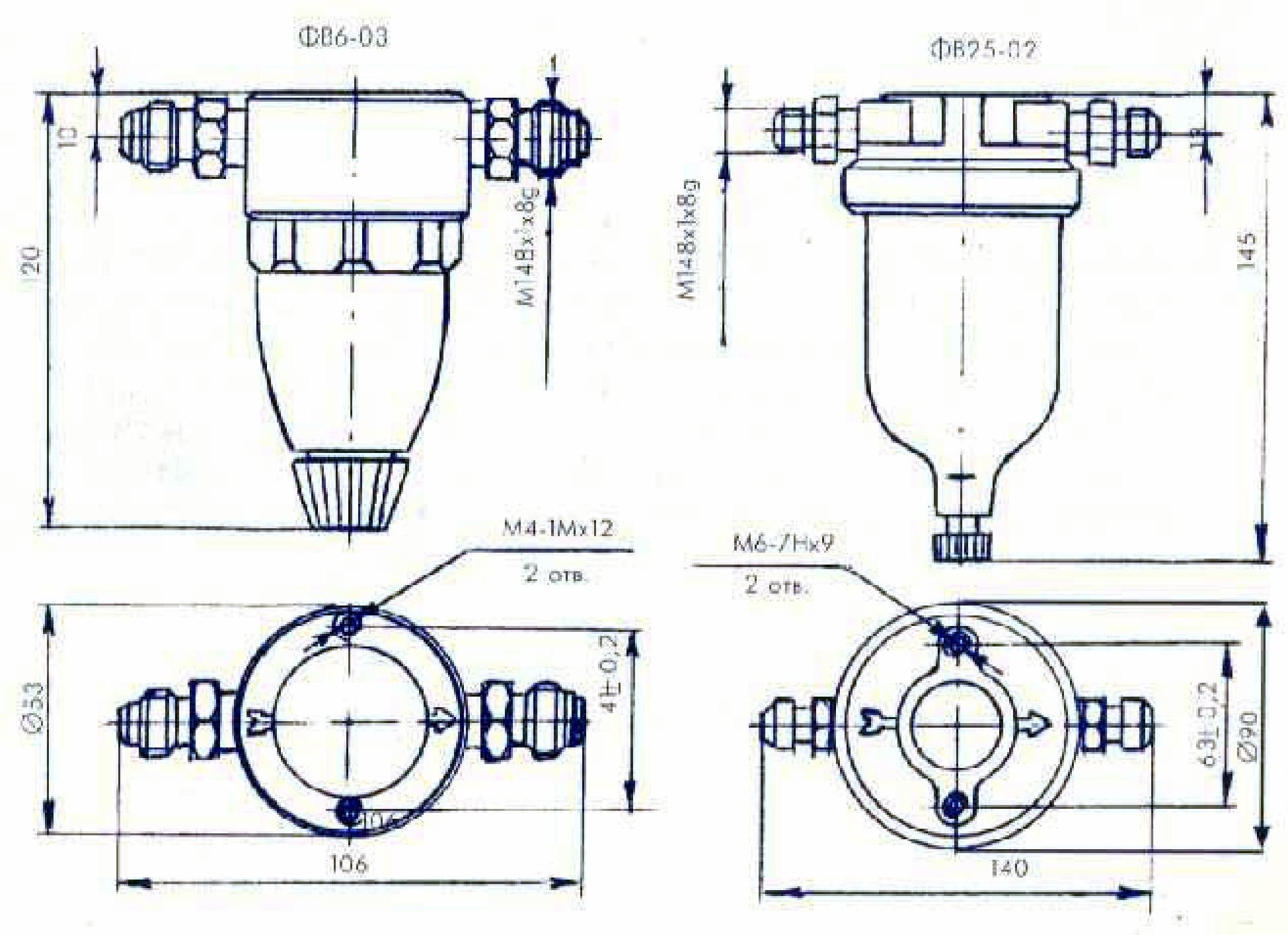 схема переключателя манометров пм. пм2-1